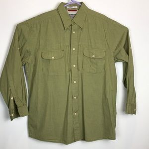 Orvis Trout Bum Vented L/S Shirt Size Large